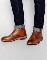 Frank Wright Bank Chukka Boots - Brown