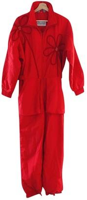 Ellesse Red Jumpsuit for Women