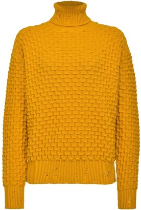 Pinko Textured Mock Neck Jumper