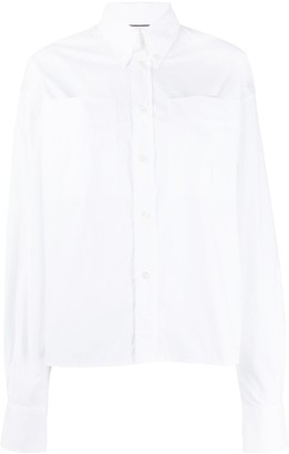 Plan C Oversized Pockets Shirt