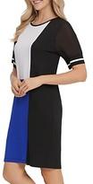 Dkny New York Colorblocked Dress