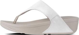 FitFlop Lulu Shimmerlizard Toe-Post Sandals