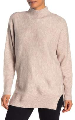 Magaschoni M Long Sleeve Mock Neck Dolman Sweater