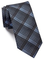 HUGO BOSS Silk Plaid Tie