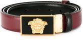Versace reversible Medusa belt - men - Calf Leather - 115