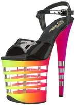 Pleaser USA Women's Flam809uvln/b/n-Uvln Platform Sandal