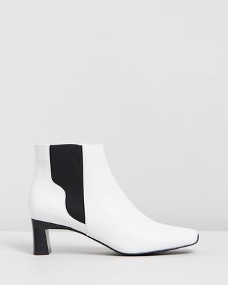 Senso Women's White Heeled Boots - Genevieve I - Size One Size, 38 at The Iconic