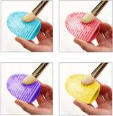 Millya 1 set of 4ps Silicone Cosmetic Makeup Washing Brush Cleaner Finger Glove Hand Cleaning Tool by Millya
