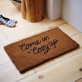 west elm Come In and Cozy Up Coir Doormat