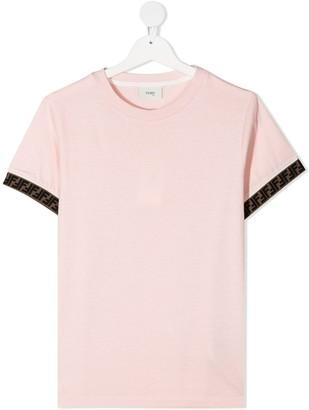 Fendi Kids FF motif T-shirt