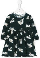 Stella McCartney swan print dress - kids - Viscose - 12 mth