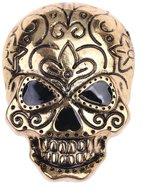lureme® Halloween Punk Alloy Skull Pin Brooch- (br000032-2)