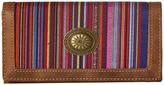 American West Serape Flap Wallet
