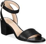 Aldo Women's Lolla Two-Piece Block-Heel Sandals