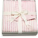 Elegant Baby Girls' Twisted-Yarn Blanket