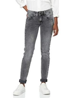 Herrlicher Women's Gila Slim Denim Black Stretch Jeans