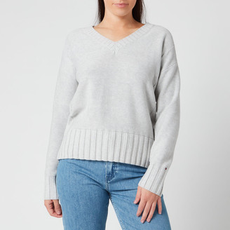 Tommy Hilfiger Women's Aimy V Neck Sweatshirt