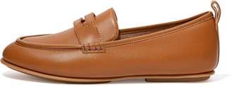 FitFlop Lena Leather Penny Loafers