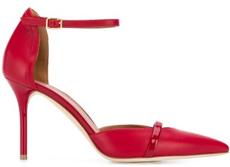 Malone Souliers Mid Heel Pointed Pumps