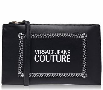 Versace Box Logo Pouch Bag