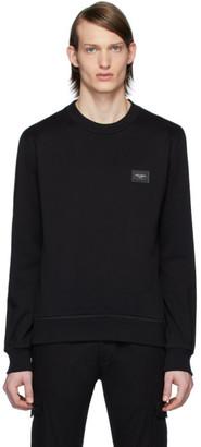 Dolce & Gabbana Black Essential Sweatshirt