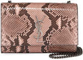 Saint Laurent Kate New Small Monogram Python Crossbody Bag