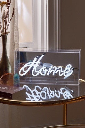 Urban Outfitters Home Neon Box Light