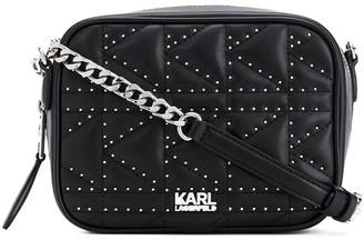 Karl Lagerfeld Paris K/Kuilted studs camera bag