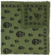 Alexander McQueen skull print scarf - men - Modal/Silk - One Size