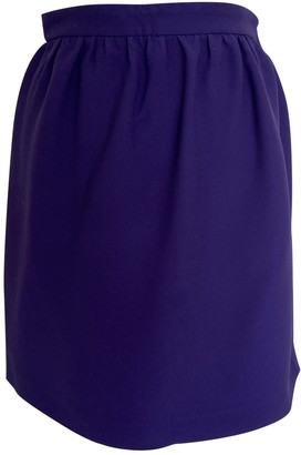 Miu Miu Purple Skirt for Women
