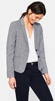 Esprit Fitted two-tone stretch blazer