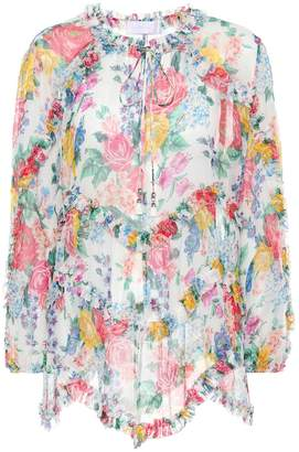 Zimmermann Exclusive to mytheresa.com silk top