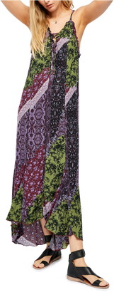 Free People Work of Art Ruffled Maxi Dress