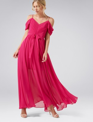 Forever New Daniella Maxi Dress - Fuchsia - 4