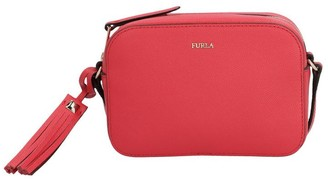 Furla Zipped Logo Crossbody Bag