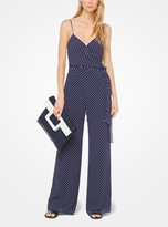 MICHAEL Michael Kors Dot Georgette Jumpsuit