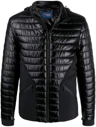 Trussardi Jeans zipped padded jacket