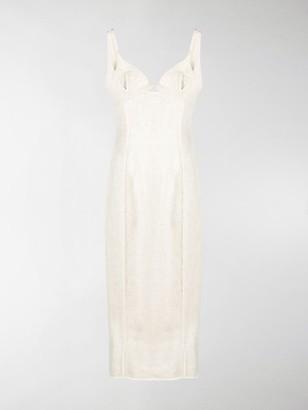 Jacquemus Panelled Seam-Detail Dress