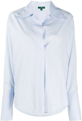 Jejia Pointed Collar Cotton Shirt