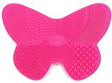 MelodySusie Makeup Brush Cleaning Mat / Makeup Brush Cleaner Mat with suction cups and 7 Cleaning Patterns / Butterfly Makeup Brush Cleaner ̈C Beautifly