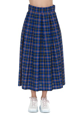 DEPARTMENT 5 Checked Midi Skirt