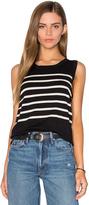 525 America Parisenne Stripe Sweater Vest