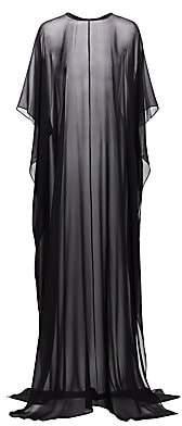 St. John Women's Luxe Silk Georgette Cape