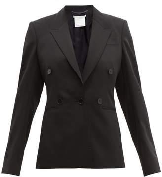 Stella McCartney Single-breasted Wool-crepe Blazer - Womens - Black