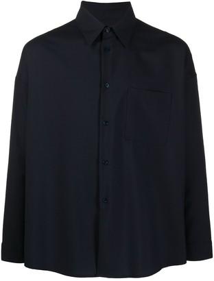 Marni Tropical wool pocket shirt