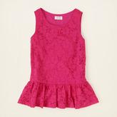 Children's Place Stretch lace peplum top