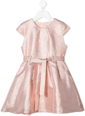 Billieblush Metallic Belted Dress