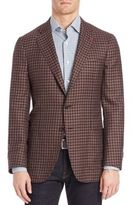 Isaia Checked Sportcoat