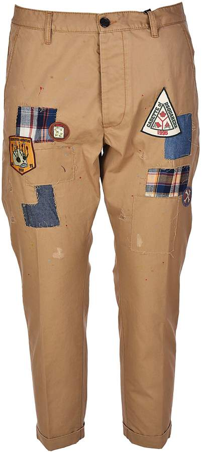DSQUARED2 Multi-patch Trousers