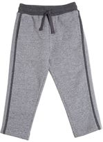 Dolce & Gabbana Two Tone Cotton Jogging Pants